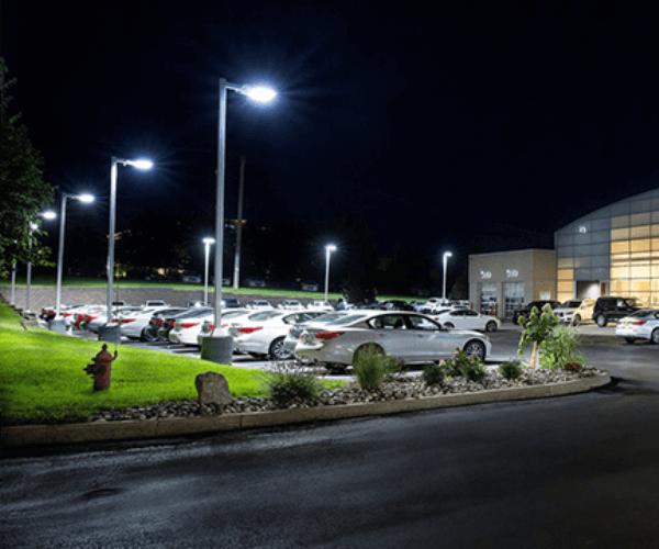 Floodlight LED for Large Outdoor Parking Lot