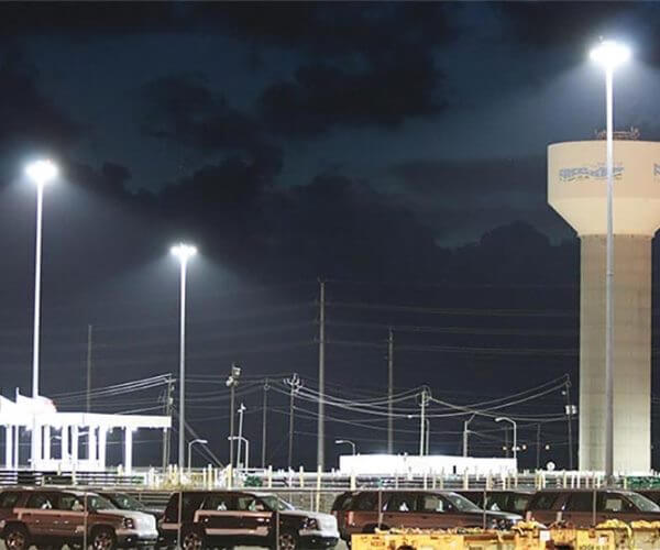 High Mast Lights for Harbour Wharf and Dock