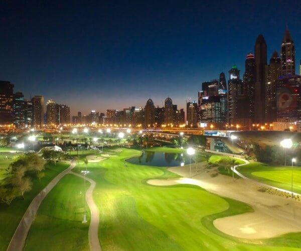 LED Flood Lights for Golf Course