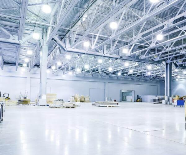 LED high bay light for warehouse lighting