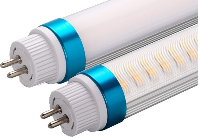 T6 T5 led tube with strip cover