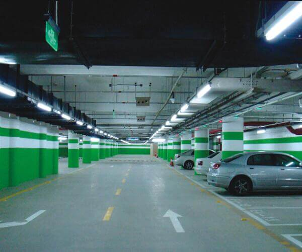 LED Tube Light for Car Parking Lot Lighting