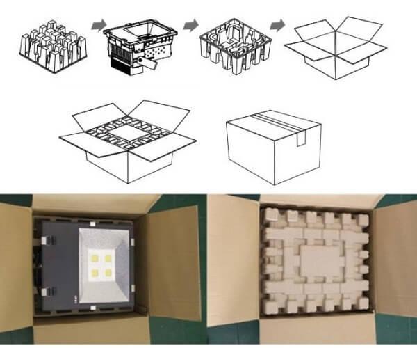 led flood lights package