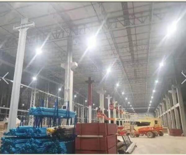 led high bay light for factory workshop lighting