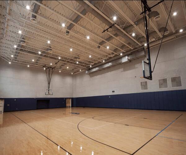 led high bay light for gym stadium