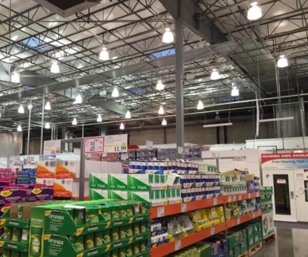 led high bay light for supermarket