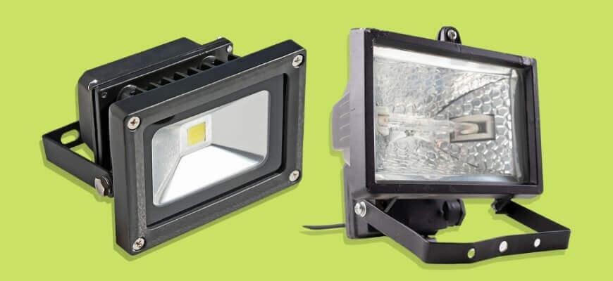 LED vs Halogen flood light