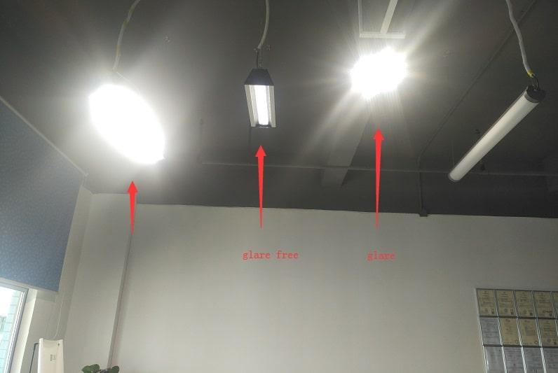 Glare of T5 LED Bulb