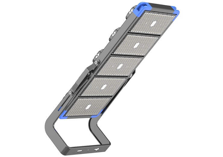 How do LED flood lights work