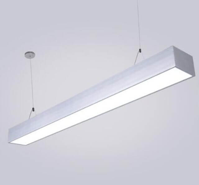 T5 light in direct or indirect pendant fixture