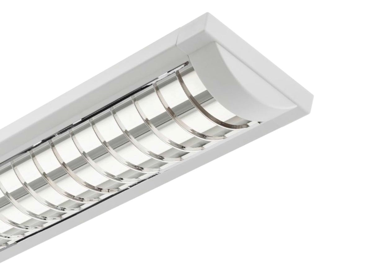4 foot fluorescent light fixtures reflector