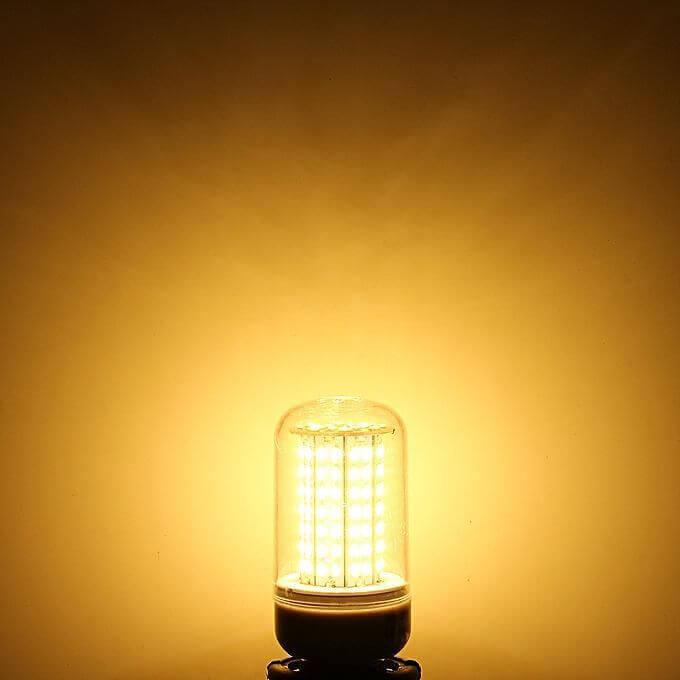 LED corn lamp in Use