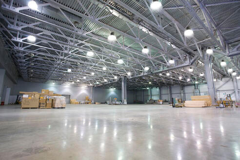 Number of LED high Bay Light Fixtures