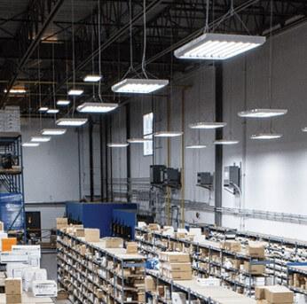 Height of LED High Bay Light Fittings
