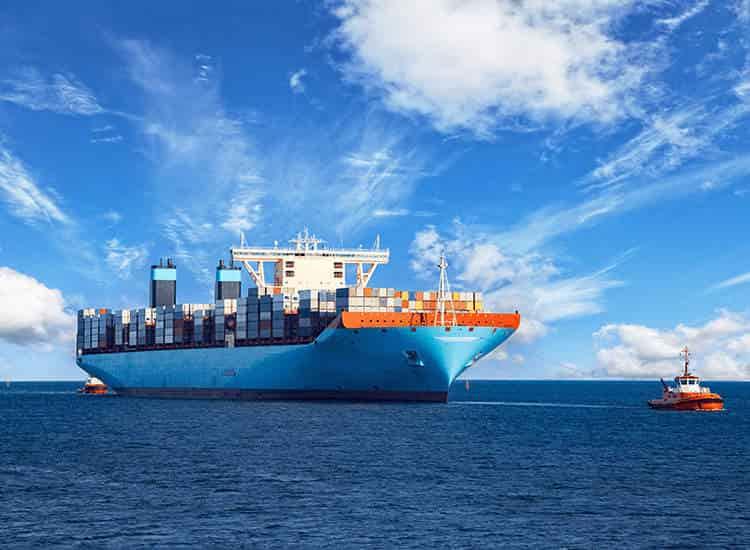 Shipping fluorescent light fixtures via sea freight