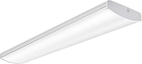 A wrap fluorescent light fixture
