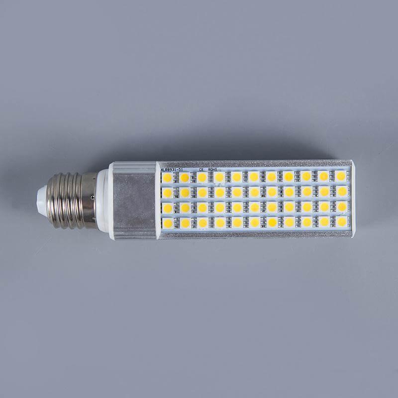 Flat LED corn light