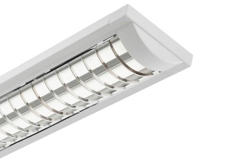 2x36w Grille Fitting