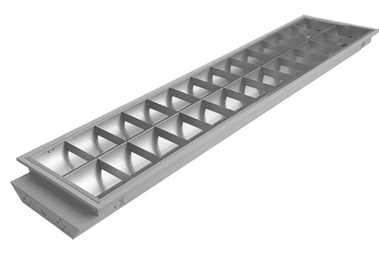 x54w Louver Lighting Luminaire
