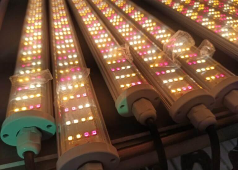 custom color led tube light fixture for horticulture lighting