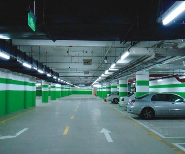 fluorescent fixtures for car parking lot lighting