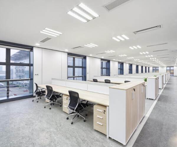 fluorescent tube lighting fixtures for office building lighting