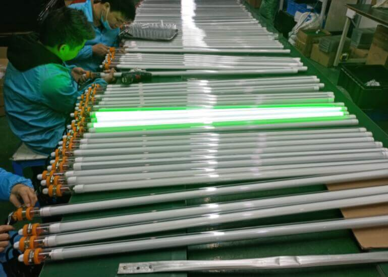 waterproof led tube light fitting for mining and fishing