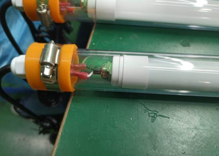 waterproof tube light fittings for mining and fishing
