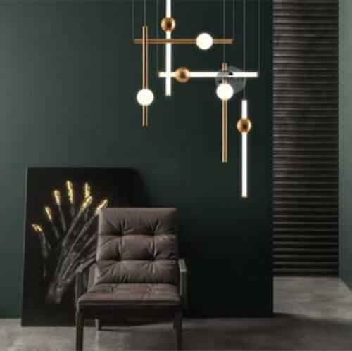 Creatively Composed LED Tube Lights