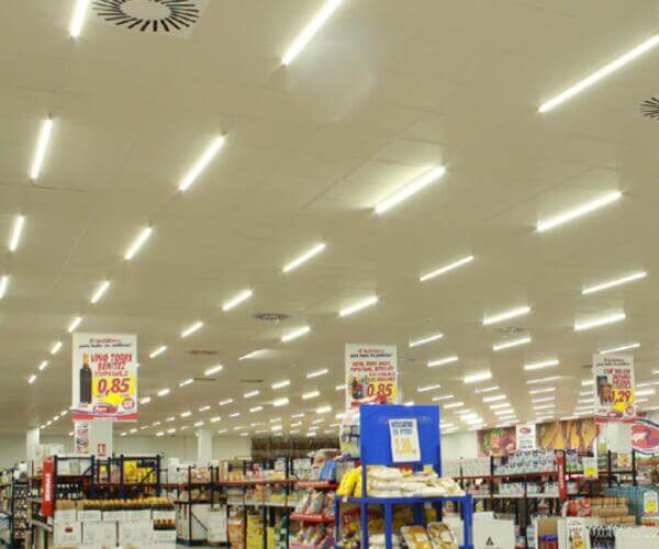 tri proof fixture for supermarket lighting
